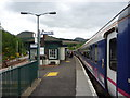 NN3825 : On The West Highland Line : Crianlarich Station by Richard West