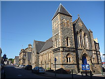 NM8529 : Oban Townscape : St Columba's Church and Hall (formerly United Free Church) by Richard West