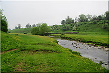 SD9058 : River Aire south of Airton by Bill Boaden