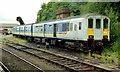 J2664 : Stabled train, Lisburn by Albert Bridge