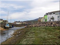 SD1678 : By the Lazy Haverigg Harbour by Perry Dark