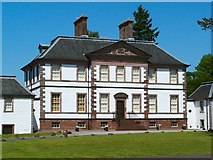 NS3978 : Strathleven House (main building) by Lairich Rig