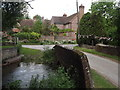 SU6223 : Old Ford, Warnford by Colin Smith