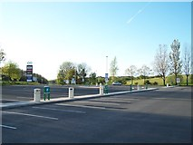 SD6211 : Car Park, Rivington Services, M61 Southbound, near Bolton by Terry Robinson