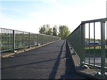 SD6211 : Bridge over the M61 at Rivington Services, near Bolton - 1 by Terry Robinson