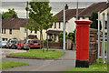 J3481 : Pillar box, Rathcoole, Newtownabbey by Albert Bridge