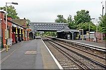 SJ2992 : Both platforms, Wallasey Grove Road Railway Station by El Pollock