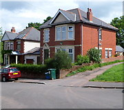 ST3288 : Houses at the northern end of Eveswell Park Road, Newport by Jaggery