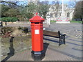 SP9211 : Hexagonal Pillar Box, Tring by David Hillas