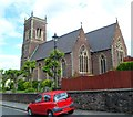 ST3288 : Newport : Grade II listed Church of St John the Evangelist viewed from the SE by Jaggery