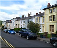 ST3288 : West side of Kensington Place, Newport by Jaggery