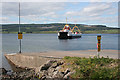NM6542 : Ferry at Fishnish by Anne Burgess