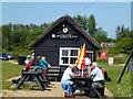 TG4522 : Shop and tea room, Horsey Mill, Norfolk by Richard Humphrey