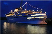 SW8132 : Falmouth Docks - MV Athena by Chris Allen