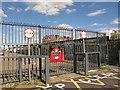 TQ4179 : Gates to Westfield Street by Stephen Craven