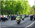 NT2472 : Waiting for the torch, Bruntsfield Place by kim traynor