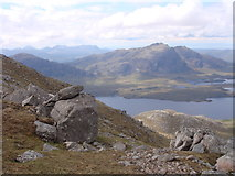 NG9778 : Western slopes of Beinn a' Chaisgein Mor by Sally
