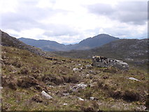NG9779 : Foot of Beinn a' Chaisgein Mor western slopes by Sally