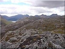 NG9982 : Northern ridge of Creag-mheall Mor by Sally