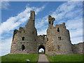 NU2521 : Coastal Northumberland : The Gateway Of Dunstanburgh Castle by Richard West