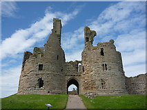 NU2521 : Coastal Northumberland : The Gateway Of Dunstanburgh Castle by Richard West