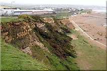 TQ7507 : The cliff on Galley Hill by Steve Daniels