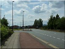 SJ7996 : Europa Way, Trafford Park by Alexander P Kapp