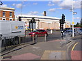 TQ4585 : Barking Bus Garage by Adrian Cable