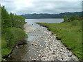 NH2124 : Abhainn Gleann nam Fiadh by Dave Fergusson