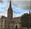 SU1429 : St Mary's Cathedral, Salisbury by Paul Gillett