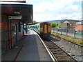 SO0505 : Arriva Trains Wales service for Bridgend in  Merthyr Tydfil railway station by Jaggery