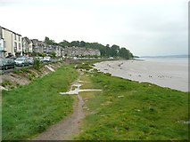 SD4578 : View along the shore, Arnside by Humphrey Bolton