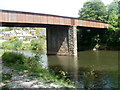 SO3701 : Former railway bridge, Usk by Jaggery