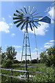 TL5670 : Wind powered water pump, Sedge Fen by Rob Noble