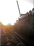SX9473 : The iron road through Teignmouth by Robin Stott