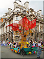 SJ8398 : Manchester Day Parade, Cross Street by David Dixon