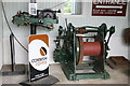 SW6638 : King Edward Mine museum - compressed air winches by Chris Allen