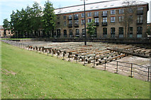 TQ3778 : Isle  of  Dogs:  Probable launching site of the 'Great Eastern' by Dr Neil Clifton