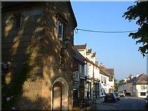SX7087 : High Street, Chagford by Derek Harper