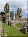 TF9839 : Ruins of the old Priory Church, Binham Priory by Oliver Dixon