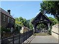 NZ1665 : The Lych Gate, St Michael & All Angels, Newburn by Bill Henderson