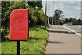 J2566 : Letter box, Pond Park, Lisburn by Albert Bridge