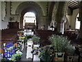 SU6822 : East Meon Flower Festival by Colin Smith