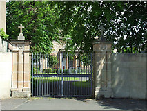 NS2776 : Convent gates by Thomas Nugent