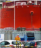J3676 : The 'SeaRose FPSO' at Belfast by Rossographer