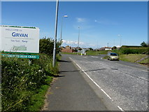 NX1896 : Welcome to Girvan by Billy McCrorie
