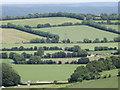 SU6920 : Preston Farm from Wether Down by Colin Smith