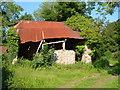 SX6988 : Washford Barn by Derek Harper