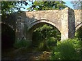 SX6987 : Chagford Bridge by Derek Harper