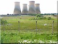 SK8071 : Cooling towers, High Marnham Power Station by Oliver Dixon